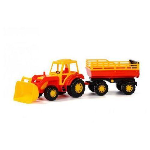 Traktory dla dzieci, Altaj Traktor z przyczepką i łyżką. Darmowy odbiór w niemal 100 księgarniach!