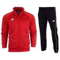 Dres kompletny Adidas meski spodnie bluza Core 18 CV3565 / CE9050