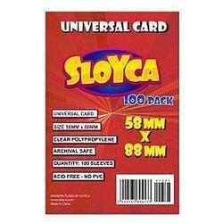 Koszulki Universal Card 58x88mm (100szt) SLOYCA