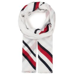 Szal TOMMY HILFIGER - Embellished Print Scarf AW0AW07870 BDS