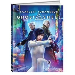 Ghost In The Shell (DVD) + Książka
