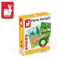 Gry dla dzieci, Gra strategiczna Janod - Wyścig na farmie J02758