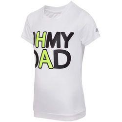 Koszulka treningowa dla małych chłopców JTSM307 - biały