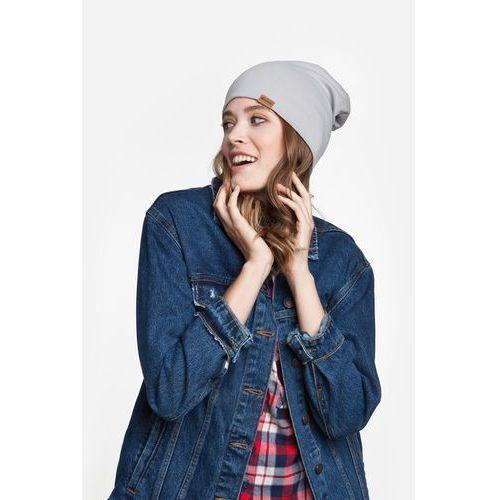 Nakrycia głowy i czapki, Czapka PaMaMi - Jasnoszary - Jasnoszary