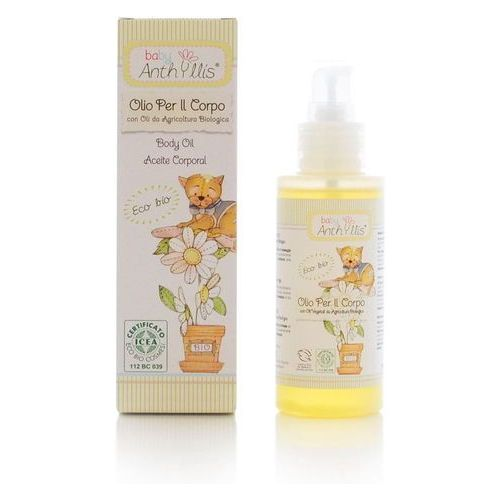 Olejki i oliwki dla dzieci, Pierpaoli Anthyllis Oliwka dla dzieci z olejem z rolnictwa ekologicznego Oliwka dla dzieci z olejem z rolnictwa ekologicznego