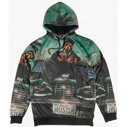 bluza DGK - Hustlin Custom Hooded Fleece Multi (MULTI) rozmiar: L