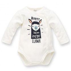 Body rozpinane długi rękaw Happy 56 Llama Ecru Pinokio