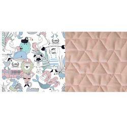 Podusia Sleepy Pig - La Millou Family Vol. II - Powder Pink - La Millou - Velvet Collection