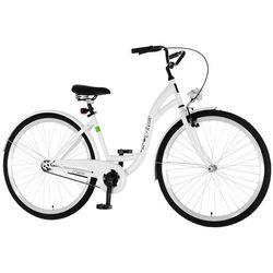 Rower DAWSTAR Retro S1B Biały + Zamów z DOSTAWĄ JUTRO! + 5 lat gwarancji na ramę! + DARMOWY TRANSPORT!