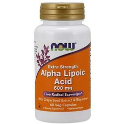 ALA (Kwas Alfa Liponowy) Plus Grape Seed Ext & Bioperine 60 kaps.