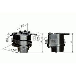 Filtr paliwa BOSCH 0 450 907 007