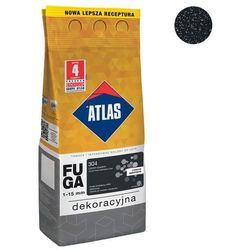 Fuga cementowa BROKATOWA 304 czarny diament 2 kg ATLAS