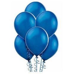 Balony lateksowe średnie - 10 cali - niebieskie - 25 szt.