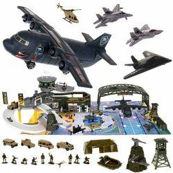 Baza wojskowa - lotnisko Samolot czołg