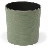Doniczki i podstawki, Doniczka plastikowa 19 cm zielona MALWA