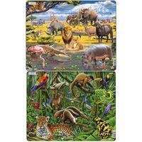 Puzzle, Puzzle MAXI - Deštný prales Jižní Ameriky/70 dílků neuveden