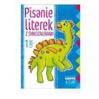 Książki dla dzieci, Ksiazeczka eduk 170x240 pisanie literek 1 lit (opr. broszurowa)