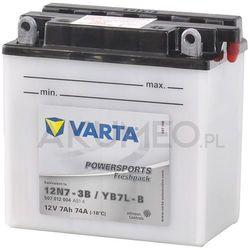 Akumulator VARTA Powersports YB7L-B 12V 7Ah 74A prawy+ oP
