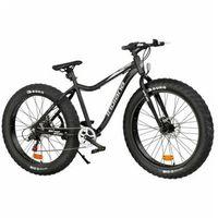 Pozostałe rowery, Rower INDIANA Fat Bike M26 Czarny | 5 LAT GWARANCJI NA RAMĘ DARMOWY TRANSPORT