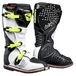 KENNY BUTY OFF-ROAD TRACK BLACK WHITE NEON YELLOW