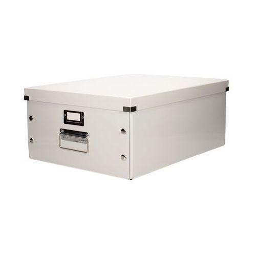 Opakowania prezentowe, Pudełko C&S uniwersal duże białe Leitz