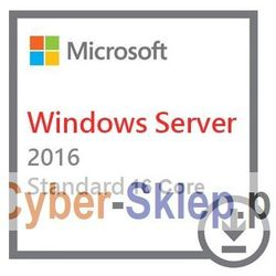 Microsoft Windows Server 2016 Standard 64bit 16 Core Retail PL
