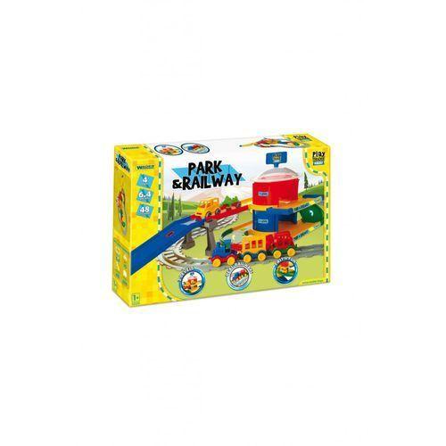 Pozostałe zabawki, Play Tracks - Stacja kolejowa 5Y37BE