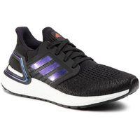 Buty sportowe dla dzieci, Buty adidas - Ultraboost 20 J EG4861 Core Black/Boost Blue Violet Met./Cloud