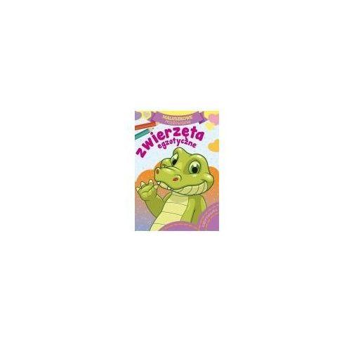 Książki dla dzieci, Maluszkowe malowanie. Zwierzęta egzotyczne