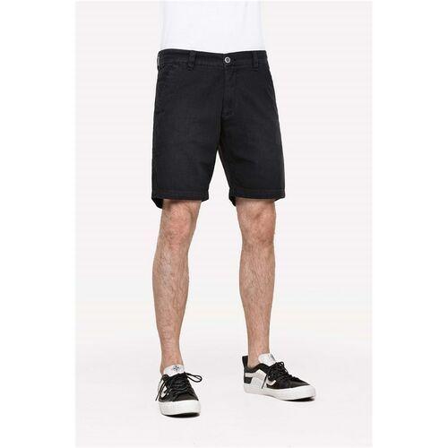 Pozostała odzież męska, szorty REELL - Miami Chino Black Wash (Black Wash)