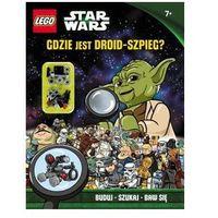 Książki dla dzieci, KSIĄŻKA LEGO® Star Wars™. Gdzie jest droid-szpieg?