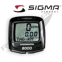 Liczniki rowerowe, 8360 Licznik SIGMA BC 8000 SPEEDMASTER przewodowy