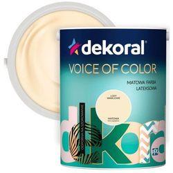 Farba Dekoral Voice of Color lody waniliowe 5 l