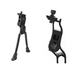 Nóżka, podpórka rowerowa centralna Accent Duo podwójna regulowana czarna