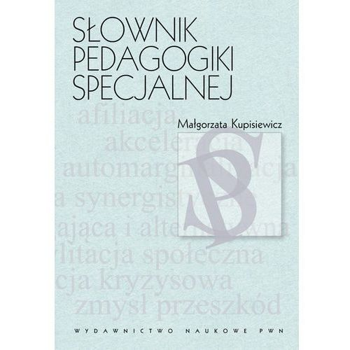Pedagogika, Słownik pedagogiki specjalnej (opr. twarda)
