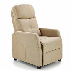 Rozkładany fotel wypoczynkowy Amigos - beżowy