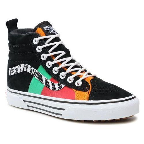 Damskie obuwie sportowe, Sneakersy VANS - Sk8-Hi 46 Mte Dx VN0A3DQ523E1 Zebra/True White