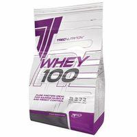 Odżywki białkowe, TREC Whey 100 - 900g - Dark Chocolate