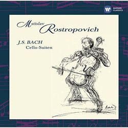 BACH: CELLO SUITES - Mstislav Rostropovitsch (Płyta CD)