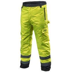 Spodnie robocze ocieplane żółte XXL NEO