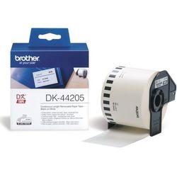 Brother etykiety łatwo usuwalna (ciągła) 62 mm. x 30,48 m. DK-44205, DK44205