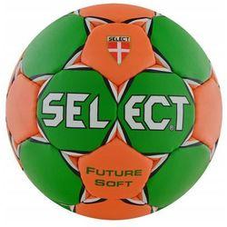 Piłka ręczna Select future Soft Jun 2 zielono-pomarańczowa