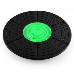 KLARFIT Balance Board Klarfit <100kg średnica 33,3cm Ø czarno/zielony