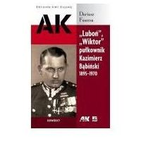 Biografie i wspomnienia, Luboń, wiktor pułkownik k. bąbiński 1895-1970 (opr. broszurowa)