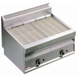 Płyta grillowa gazowa ryflowana nastawna | 780x470mm