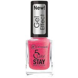 Dermacol 5 Day Stay Gel Effect lakier do paznokci 12 ml dla kobiet 29 Burlesque