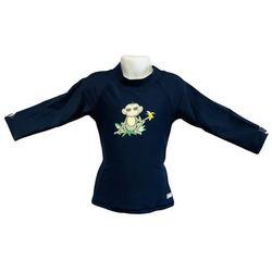 Bluzka kąpielowa koszulka dzieci 108cm filtr UV50+ - Navy Jungle \ 108cm
