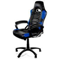 Fotele dla graczy, Fotel AROZZI Enzo Czarno-niebieski + DARMOWY TRANSPORT!