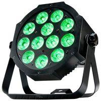 Zestawy i sprzęt DJ, American DJ Mega 64 Profile Plus - reflektor LED RGB+UV czarny płaski 12 x 4 W Płacąc przelewem przesyłka gratis!