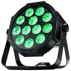 American DJ Mega 64 Profile Plus - reflektor LED RGB+UV czarny płaski 12 x 4 W Płacąc przelewem przesyłka gratis!